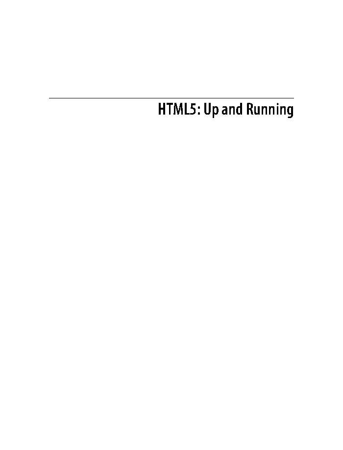 Download images HTML5: Up and Running