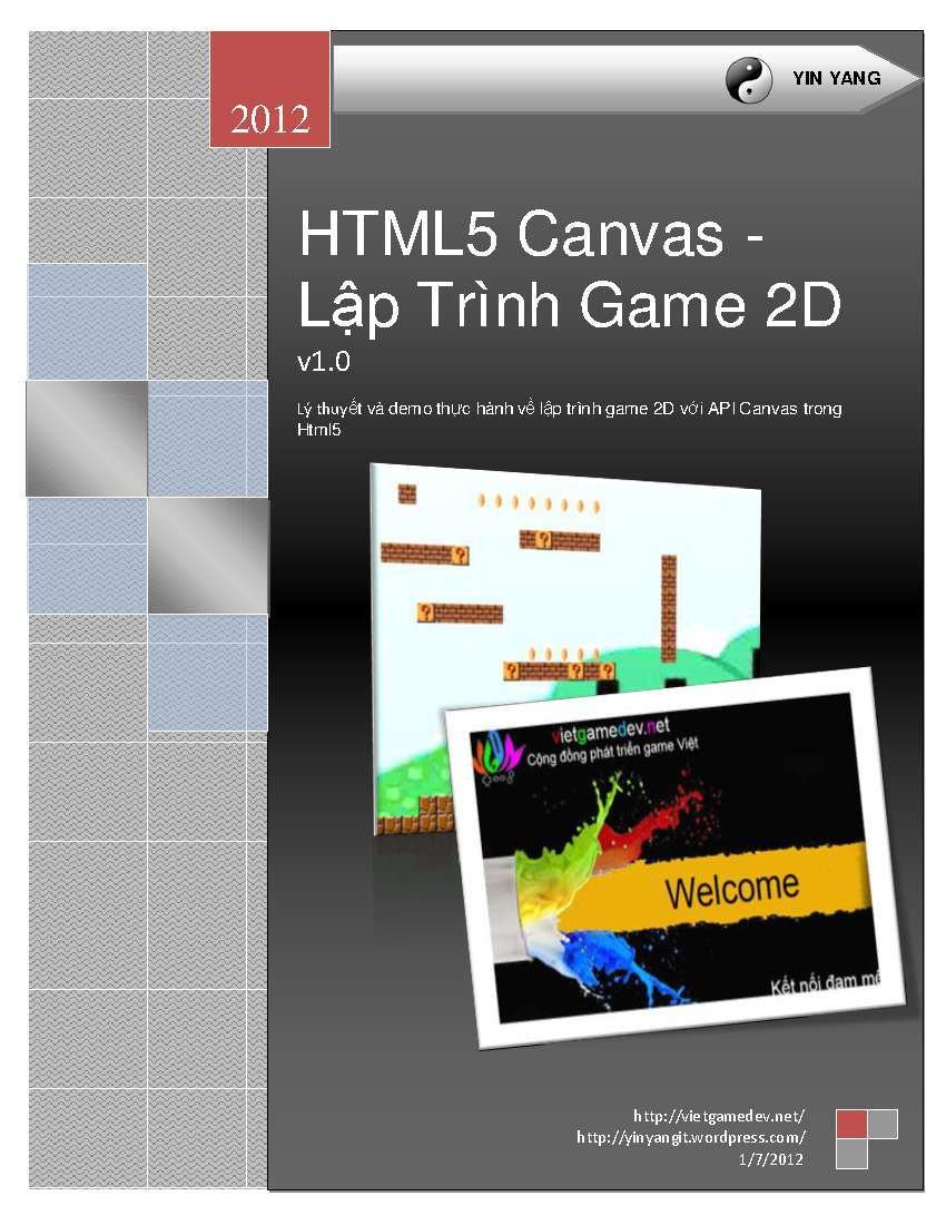 Download images Ebook - HTML5 Canvas - Lập Trình Game 2D (Free)