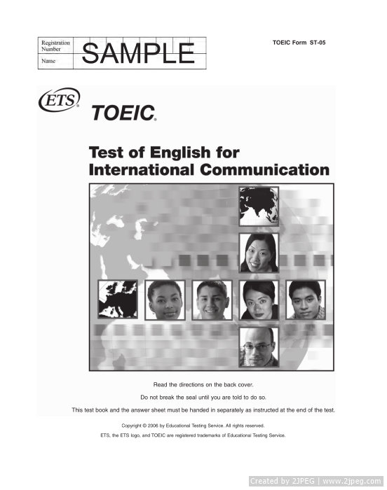 Reading Test - TOEIC 1
