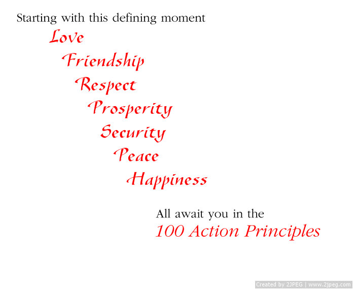 100 Action Principles