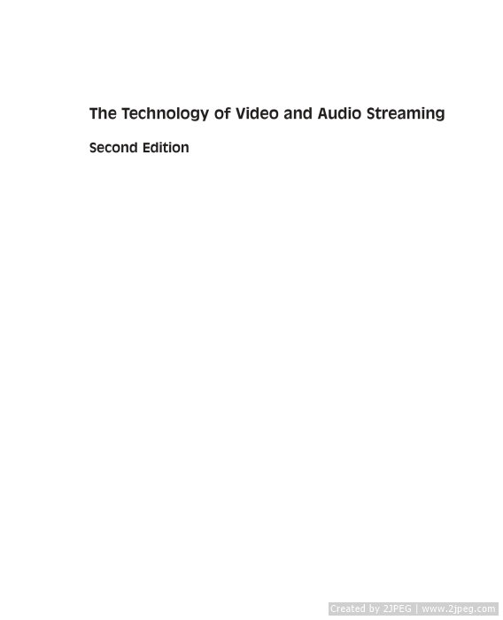 Tài liệu The Technology of Video and Audio Stream slide 2