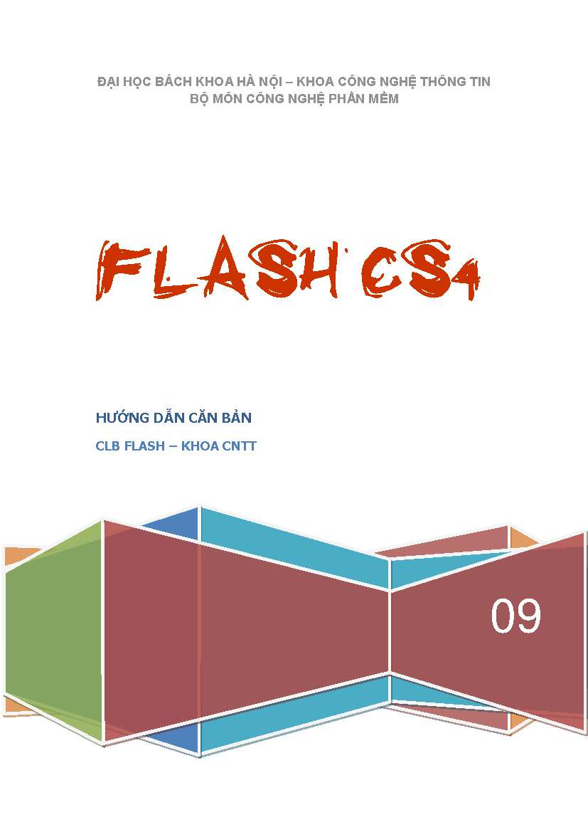 Download images Giáo trình Flash CS4
