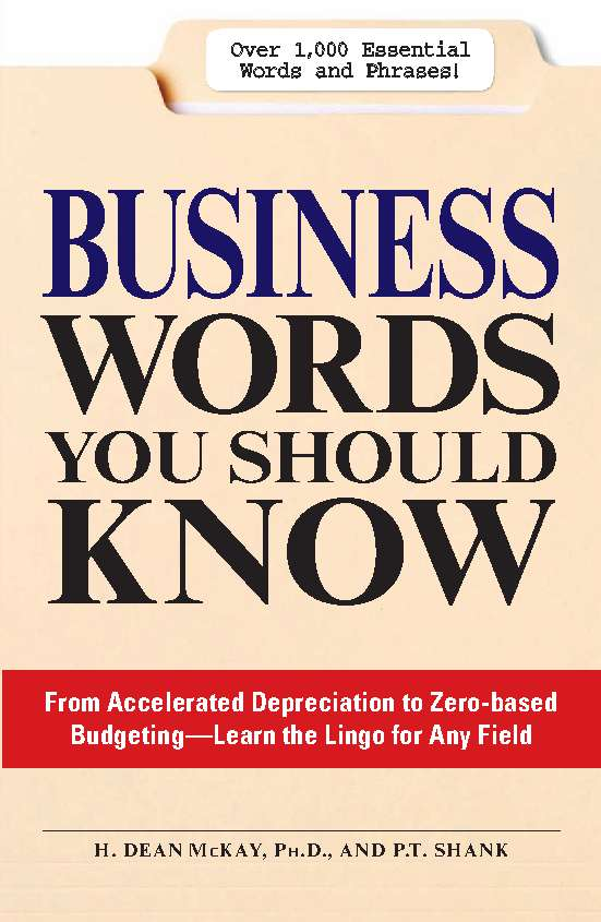 BUSINESS WORDS YOU SHOULD KNOW