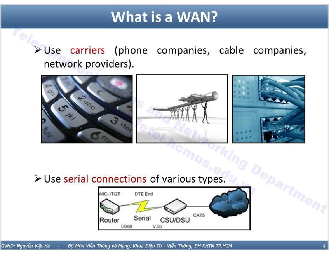 Mạng WAN trong Windows Servers 2003