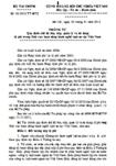 Thông tư số 02/2012/TT-BTC - Quy định chế độ thu, nộp, quản lý và sử dụng lệ phí trong lĩnh vực hoạt động hành nghề luật sư tại Việt Nam