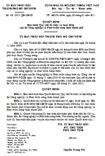 Quyết định số 06/2011/QĐ-UBND - Ban hành quy chế tổ chức và hoạt động của Sở Nông nghiệp và Phát triển nông thôn