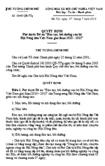 Quyết định số 1045/QĐ-TTG - Phê duyệt Đề án đào tạo, bồi dưỡng cán bộ Hội Nông dân Việt Nam giai đoạn 2010 - 2015