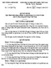 Quyết định số 114/QĐ-TTG - Quy định chức năng, nhiệm vụ, quyền hạn và cơ cấu tổ chức của Ủy ban sông Mê Công Việt Nam