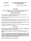 Quyết định 1171/2012/QĐ-BXD - Công nhận cơ sở đào tạo, bồi dưỡng kiến thức chuyên môn, nghiệp vụ quản lý vận hành nhà chung cư