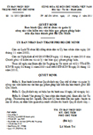 Quyết định số 14/2011/QĐ-UBND ban hành quy chế tổ chức và quản lý cộng tác viên kiểm tra văn bản quy phạm pháp luật trên địa bàn Hồ Chí Minh