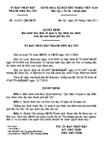 Quyết định số 14/2011/QĐ-UBND - Ban hành quy định về quản lý dạy thêm học thêm trên địa bàn Hà Nội