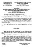 """Quyết định số 17/2010/QĐ-UBND - Ban hành """"quy định tạm thời phân công trách nhiệm quản lý Nhà nước về vệ sinh an toàn thực phẩm trên địa bàn thành phố Hà Nội"""""""