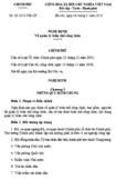 Nghị định số 21/2010/NĐ-CP - Về quản lý biên chế công chức