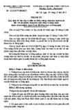 Thông tư số 22/2010/TT-BKHCN - Quy định về việc cấp và kiểm tra Giấy chứng nhận lưu hành tự do đối với sản phẩm, hàng hóa xuất khẩu và nhập khẩu