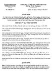 Quyết định 2516/2012/QĐ-CT - Công bố thủ tục hành chính sửa đổi, bổ sung của Ủy ban nhân dân cấp huyện trên địa bàn tỉnh Quảng Trị
