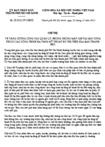 Chỉ thị 28/2012/CT-UBND - Tăng cường công tác quản lý, phòng chống mất cắp tài sản công thuộc các công trình hạ tầng kỹ thuật đô thị trên địa bàn thành phố Hồ Chí Minh