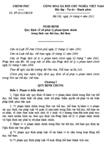 Nghị định số 37/2012/NĐ-CP quy định về xử phạt vi phạm hành chính trong lĩnh vực thể dục, thể thao