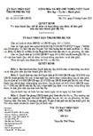 Quyết định số 42/2010/QĐ-UBND - Về việc ban hành quy chế tổ chức và hoạt động của thôn, tổ dân phố trên địa bàn Hà Nội