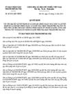 Quyết định 42/2012/QĐ-UBND của UBND tỉnh Thừa Thiên Huế - Chế độ dinh dưỡng đặc thù cho vận động viên, huấn luyện viên thể thao thành tích cao tại tỉnh Thừa Thiên Huế