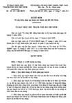 Quyết định số 48/2011/QĐ-UBND về cấp Giấy phép quy hoạch tại thành phố Hồ Chí Minh