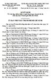 Quyết định số 50/2011/QĐ-UBND về việc lập, thẩm định và phê duyệt quy hoạch đô thị trên địa bàn TP Hồ Chí Minh