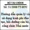 Thông tư số 51/2008/TT-BTC - Hướng dẫn quản lý và sử dụng kinh phí đào tạo, bồi dưỡng cán bộ, công chức Nhà nước