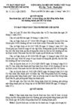 Quyết định số 51/2011/QĐ-UBND - Ban hành quy chế tổ chức và hoạt động của Hội đồng thẩm định bồi thường TP Hồ Chí Minh