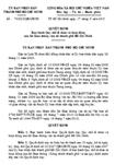 Quyết định số 70/2010/QĐ-UBND - Ban hành quy chế tổ chức và hoạt động của Sở Giao thông vận tải TP Hồ Chí Minh