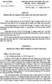 Thông tư số 83/2011/TT-BTC - Hướng dẫn xây dựng dự toán ngân sách Nhà nước năm 2012