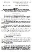 Thông tư số 97/2007/TT-BTC hướng dẫn thi hành một số điều của Nghị định số 36/2007/NĐ-CP về xử phạt vi phạm hành chính trong lĩnh vực chứng khoán