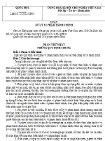 Luật số 15/2012/QH13 của Quốc hội về Luật xử lý vi phạm hành chính