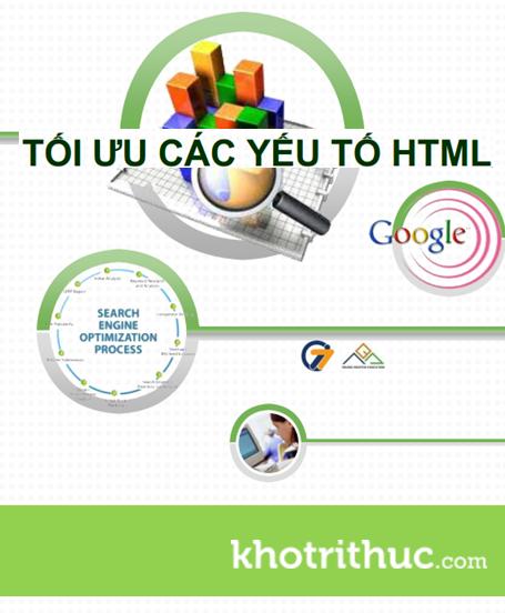 Tối Ưu Các Yếu Tố HTML Trong SEO