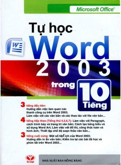 Tự học Microsoft Word 2003